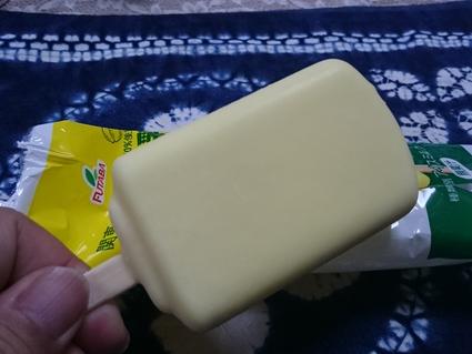 フタバ食品 レモン牛乳アイスバー@サークルkサンクス_b0042308_21102790.jpg