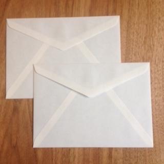 つくし封筒_c0200314_14525829.jpg