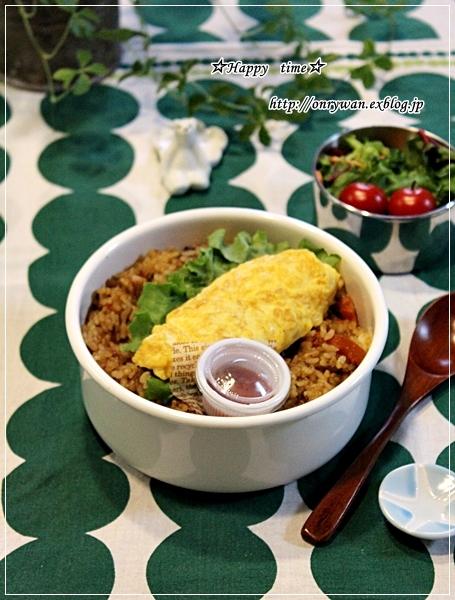 焼きカレーライス弁当と常備菜作り♪_f0348032_18035265.jpg