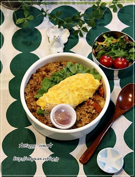 焼きカレーライス弁当と常備菜作り♪_f0348032_18040010.jpg