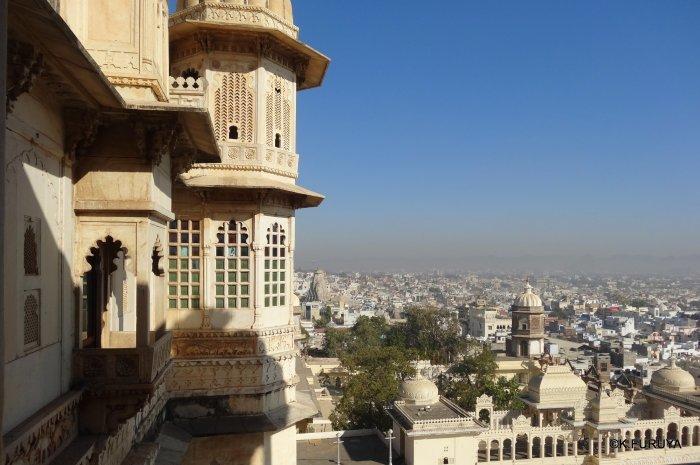 """インド・ラジャスタンの旅 14 ウダイプール """"シティパレス"""" その2_a0092659_17225462.jpg"""