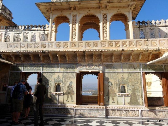 """インド・ラジャスタンの旅 14 ウダイプール """"シティパレス"""" その2_a0092659_17261128.jpg"""