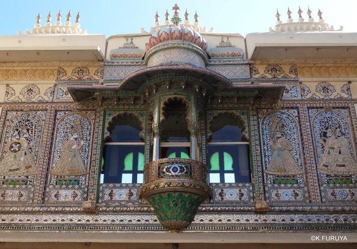 """インド・ラジャスタンの旅 14 ウダイプール """"シティパレス"""" その2_a0092659_17291563.jpg"""