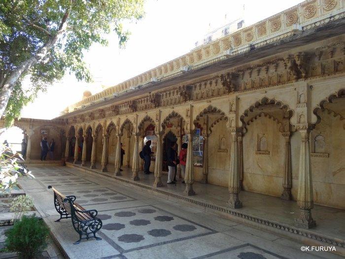 """インド・ラジャスタンの旅 14 ウダイプール """"シティパレス"""" その2_a0092659_17540754.jpg"""