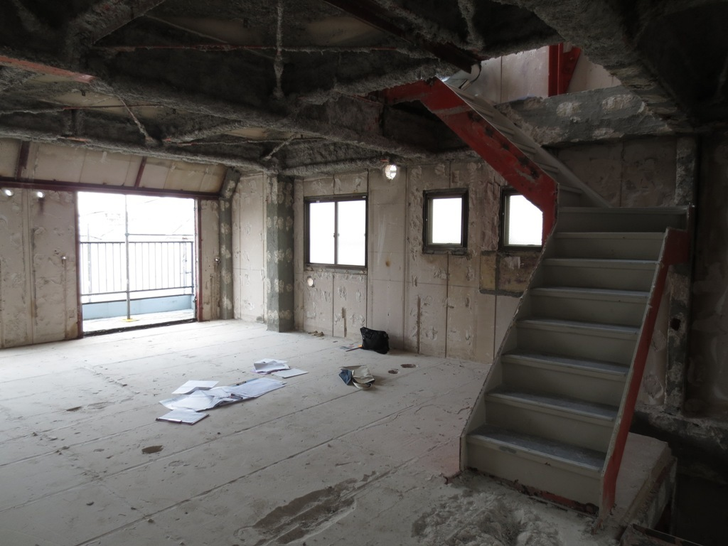 桜台の家改修 既存解体_c0310571_08485886.jpg