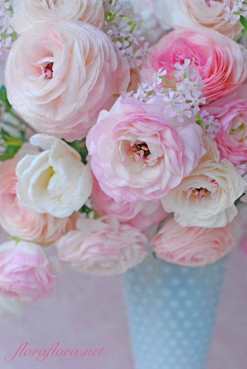 名残りのラナンキュラス 花を愛でる幸せ 4月おへその月曜日に フラワースタジオフローラフローラ東京目黒不動前_a0115684_01250136.jpg