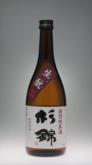 杉錦 純米酒 [杉井酒造]_f0138598_96171.jpg