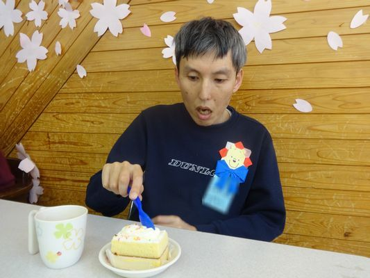 4/17 誕生日喫茶_a0154110_16395310.jpg