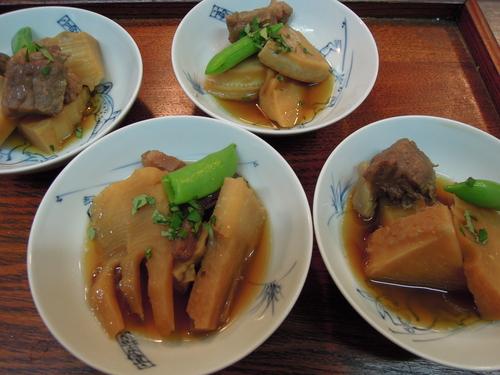 筍 牛肉 煮物 木の芽の香り_e0116211_1251055.jpg
