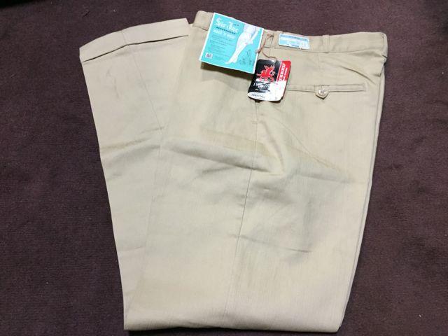 アメリカ仕入れ情報 #42 デッドストック大量発掘!! ⑭Sir Jac 60s all cotton テーパード パンツ! _c0144020_14115136.jpg