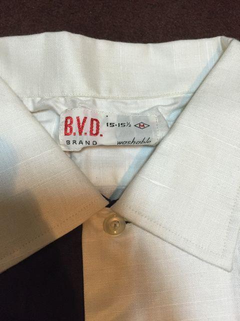 アメリカ仕入れ情報 #49デッドストック大量発掘!!ⅱ21 60s〜B.V.D  All cotton ツートンシャツ!!_c0144020_15512379.jpg