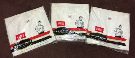 アメリカ仕入れ情報 #50デッドストック大量発掘!!22 60S HANES ポケットTシャツ!!_c0144020_16374569.jpg
