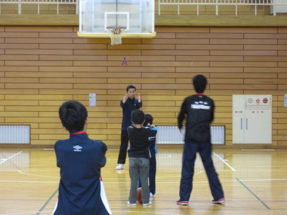 4月17日(日)バスケットボール教室を行いました。_d0010630_10000077.jpg