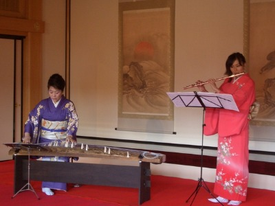 箏&フルート 熊本現代美術館 くまもと邦楽祭プレイベント_c0085539_10345619.jpg