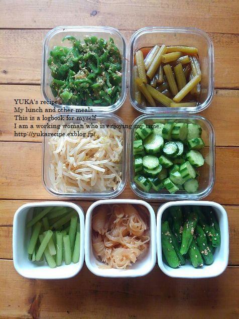 人気ブロガーYUKAさんの緑が爽やかな初夏の常備菜【レシピ付き】