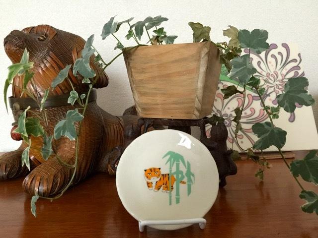 オリジナルグッズ紹介♪その3:小皿(虎と竹)「禅 -心をかたちに-」@京都国立博物館 5/22まで_d0339885_12463028.jpg