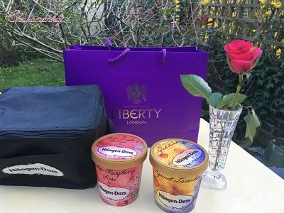 Liberty限定 お花の味のハーゲンダッツアイスクリーム_f0238789_22244857.jpg