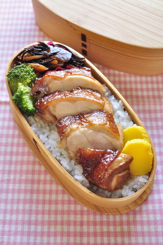 黒酢鶏弁当と息子野球の話_b0171098_8232272.jpg