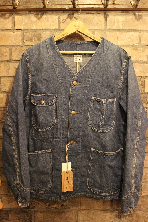 "orSlow ""RAIL ROAD JACKET\"" ご紹介_f0191324_10355958.jpg"