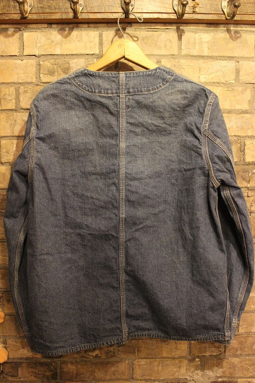 "orSlow ""RAIL ROAD JACKET\"" ご紹介_f0191324_1036658.jpg"