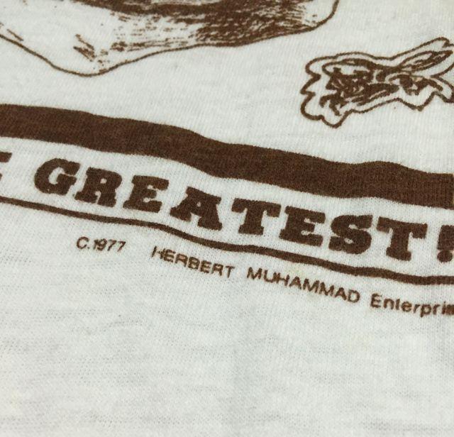 アメリカ仕入れ情報#56 70s モハメッド アリ Tシャツ!_c0144020_1345844.jpg
