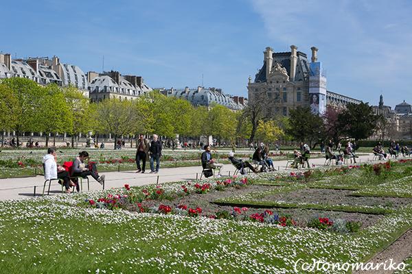 春色のチュリルリー公園_c0024345_03401731.jpg