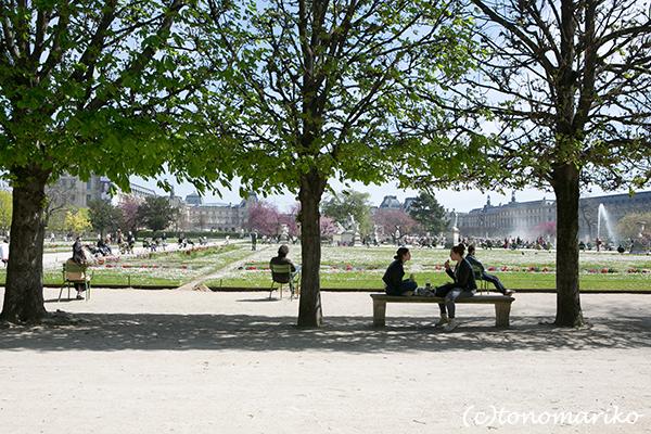 春色のチュリルリー公園_c0024345_03401770.jpg