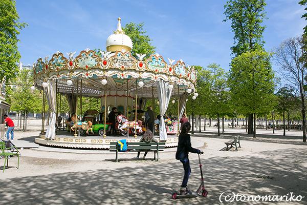 春色のチュリルリー公園_c0024345_03401789.jpg