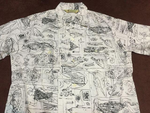 アメリカ仕入れ情報#57 デッドストック 50s  ALL COTTON 柄シャツ!_c0144020_14294539.jpg
