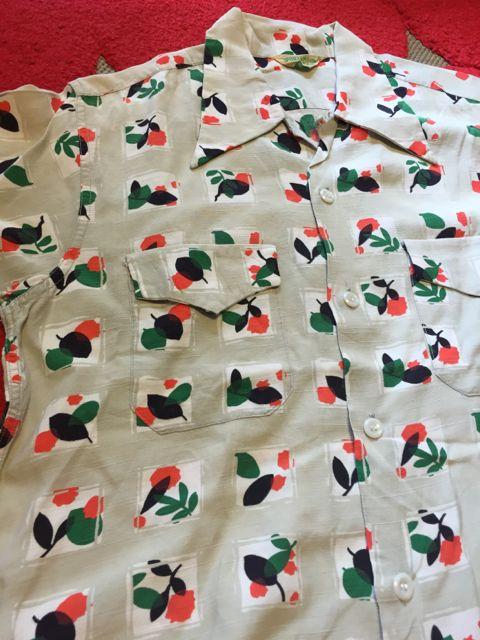 アメリカ仕入れ情報#59  50s RAYON shirts!!_c0144020_14383322.jpg