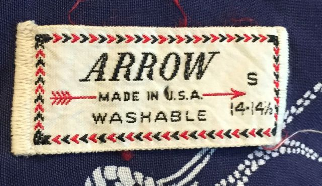 アメリカ仕入れ情報#62 50s ARROW fish柄 Rayon Shirts!!_c0144020_14452480.jpg