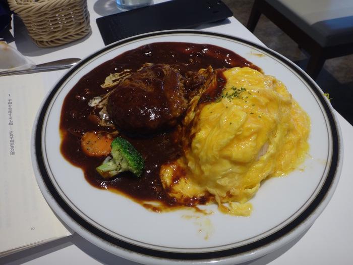 「至福の時〜ハヤシオムライスバーグを食らって〜」_b0084241_2115997.jpg