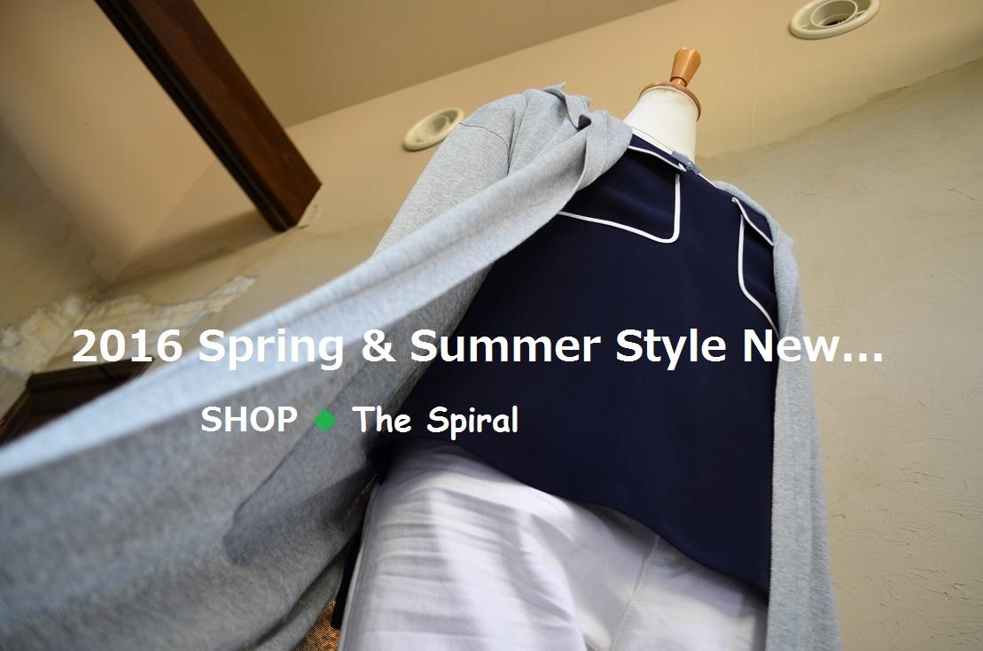 """2016 Spring & Summer Style New... 4/22fri\""_d0153941_162841.jpg"