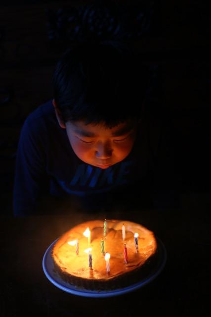 息子、おかげさまで10歳の誕生日を迎えることが出来ました_c0008664_23333984.jpg