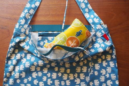 持ち方いろいろ「wear bag」_e0243765_01092816.jpg