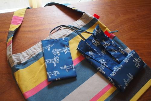 持ち方いろいろ「wear bag」_e0243765_13452885.jpg