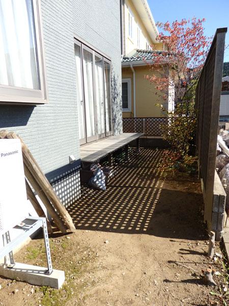 T-HOUSE お庭リノベスタート_f0141971_8194894.jpg