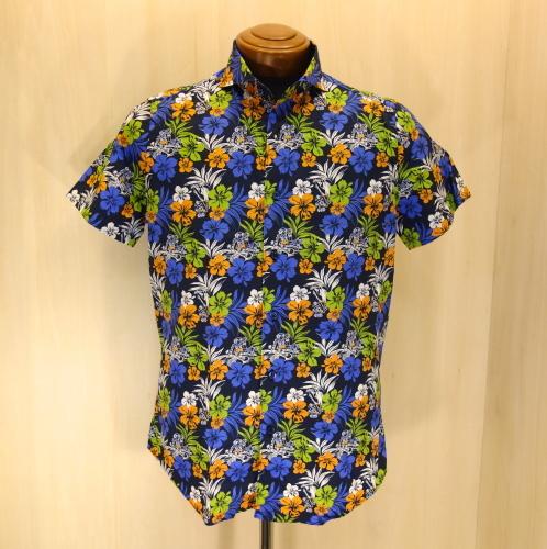 CIT LUXURY(チット・ラグジュアリー)ハワイアンプリントショートスリーブシャツ(GPAULM)_c0118375_15090846.jpg
