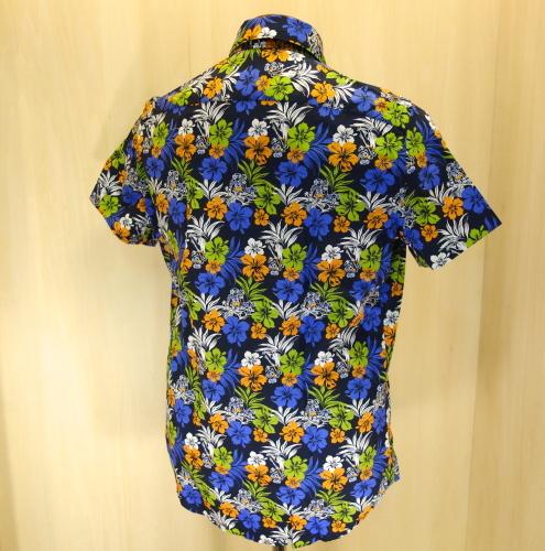 CIT LUXURY(チット・ラグジュアリー)ハワイアンプリントショートスリーブシャツ(GPAULM)_c0118375_15094839.jpg