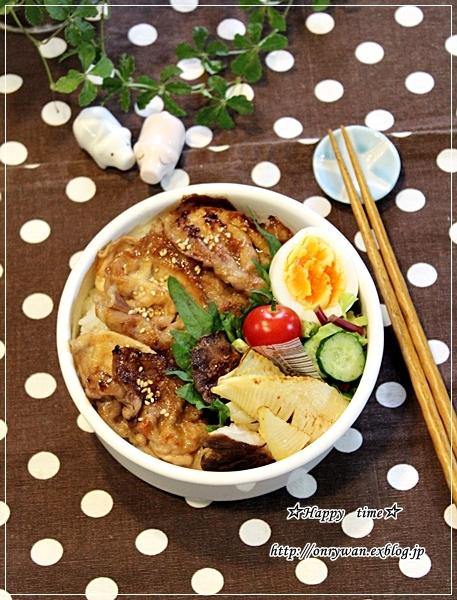 薄豚ロースで味噌漬け焼き弁当となめらかプリン♪_f0348032_18214595.jpg