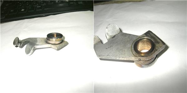 BMW 旧Rtype サイドスタンドの加工 自作のおすすめ_e0218639_1063280.jpg