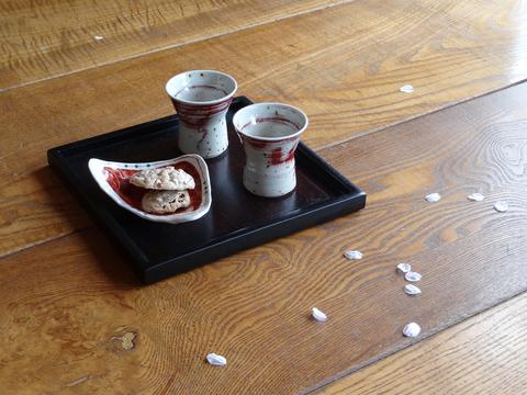 桜の季節展示会_a0233551_1233395.jpg