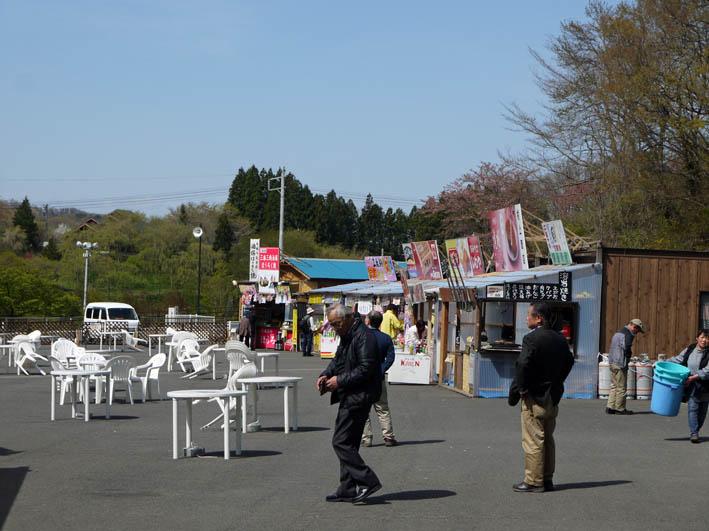 散ってしまっていた三春滝桜、見ごろは1週間前だった4・20_c0014967_9365293.jpg