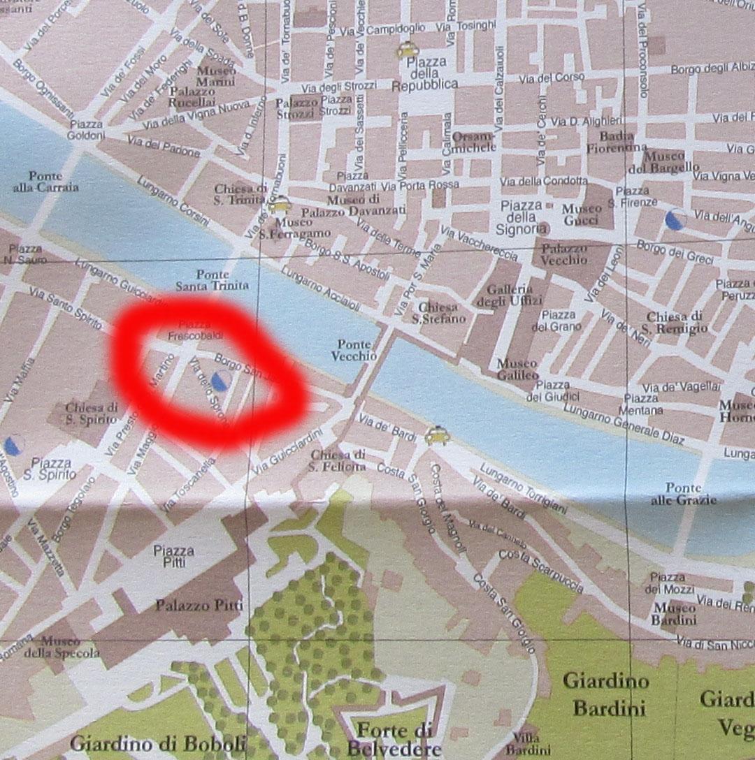 フィレンツェの街中にある公衆トイレをチェック!!_c0179785_1183865.jpg
