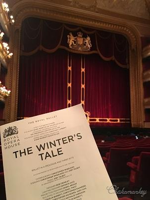 ロイヤルバレエのThe Winter\'s Taleでイギリス国歌斉唱_f0238789_1614118.jpg