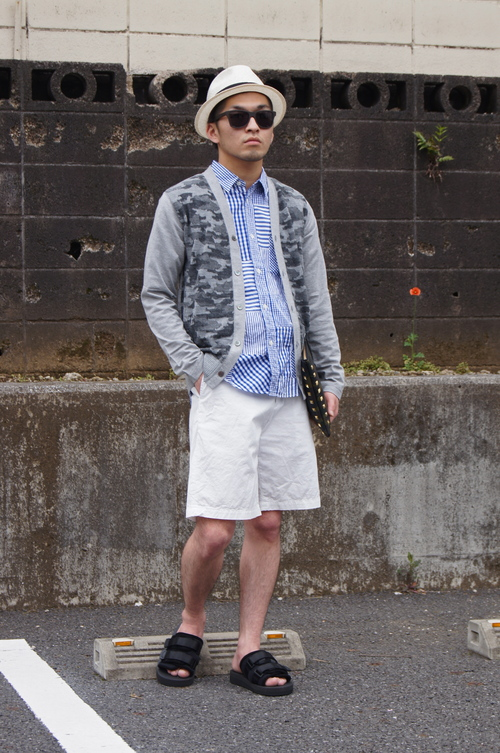CdG HOMME & hobo - Summer Look!!_c0079892_19353481.jpg