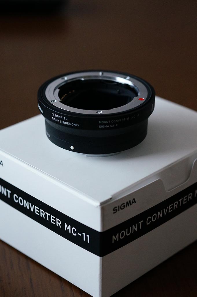 SIGMA [MOUNT CONVERTER MC-11]_c0124795_17231870.jpg