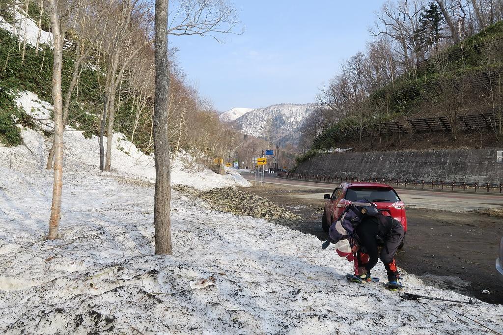 恵庭岳、4月22日_f0138096_11431518.jpg