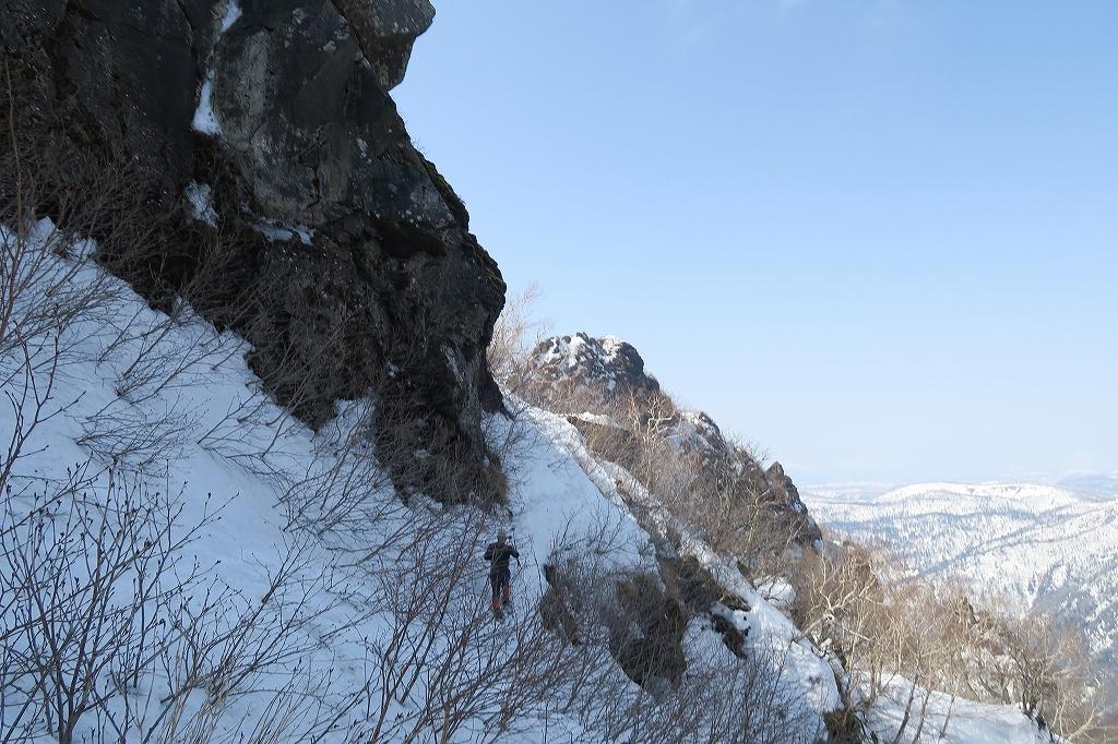 恵庭岳、4月22日_f0138096_11443799.jpg