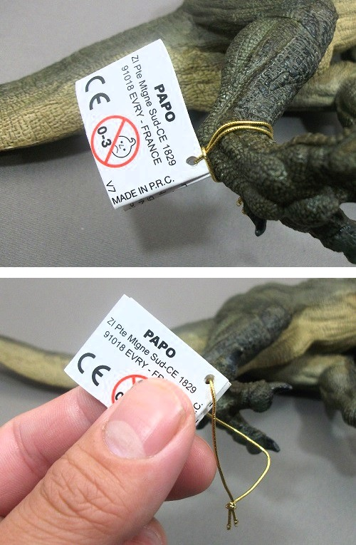 PAPO(パポ社)/ティラノサウルス(T.レックス 緑) レビュー_f0205396_20323169.jpg